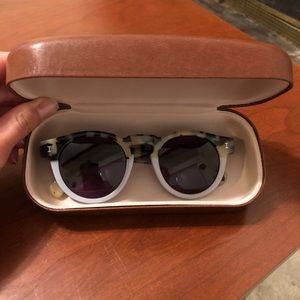 BRAND NEW Illesteva sunglasses (tortoise/gray)